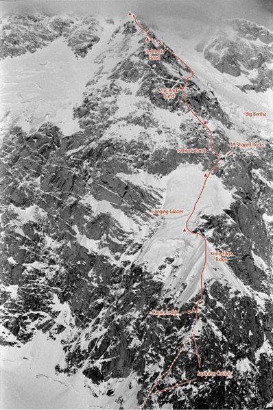 Denali, Cassin route