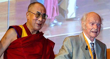 Dalai Lama en Heinrich Harrer