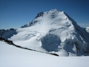Dom (4,545m) from the Nadelgrat