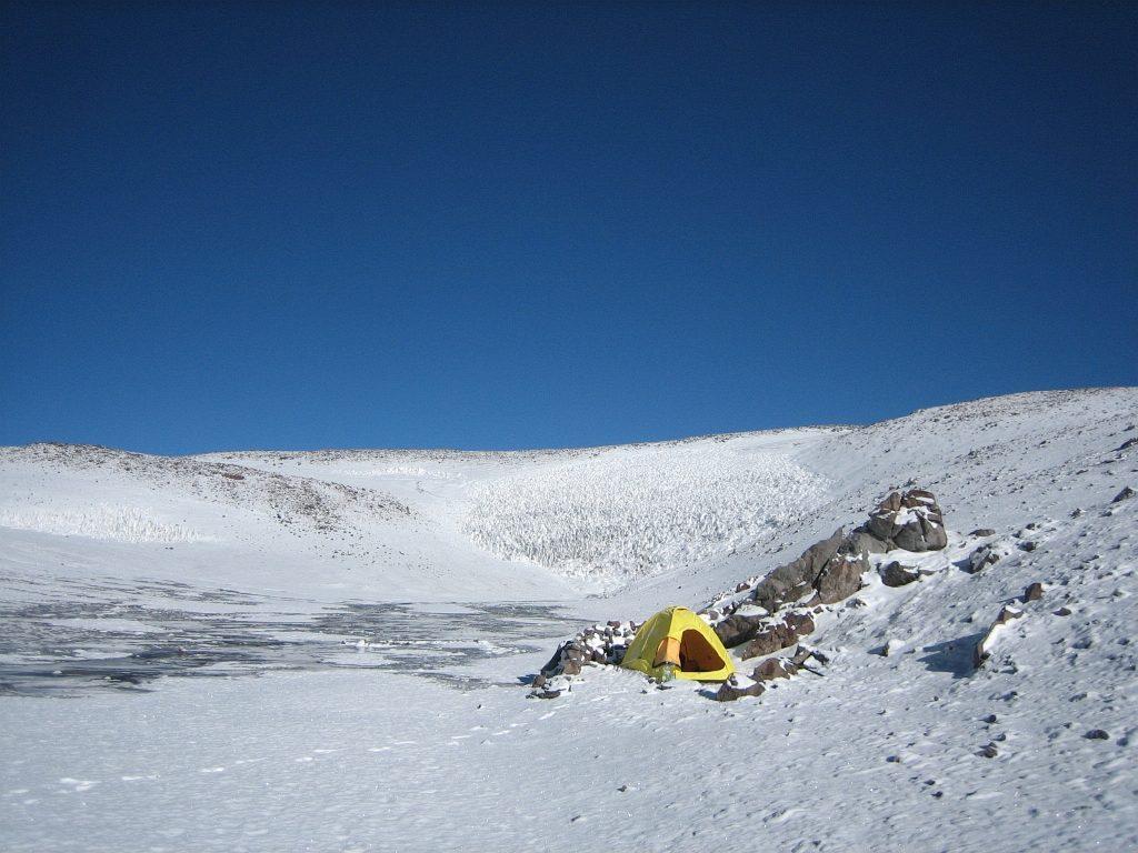 Basiskamp Campo di Aqua (5.500m)