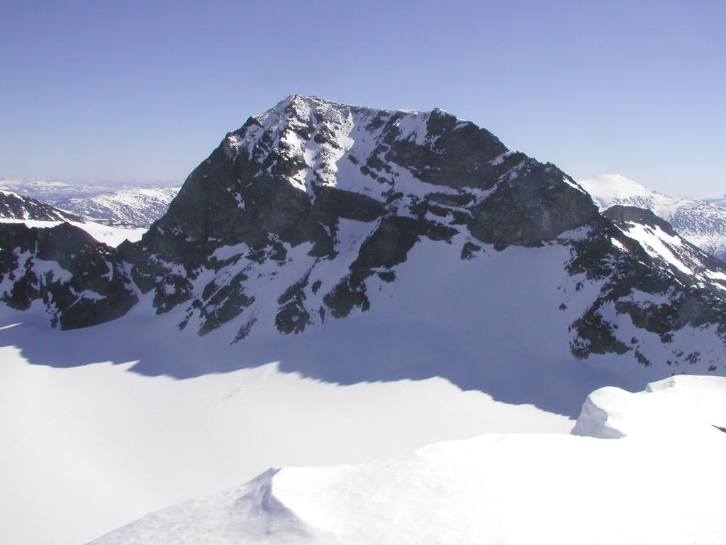 Galdhøpiggen (2469m), Noorwegen