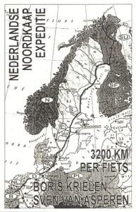 Sponsor card of the NL North Cape Expedition 1995