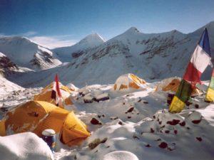 TNF VE 25 expeditie tenten in ABC