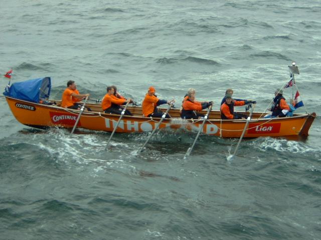 Nederlandse Surfboat team