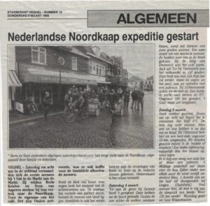Lunchroom 't Gat in de Markt was start & finish of the expedition