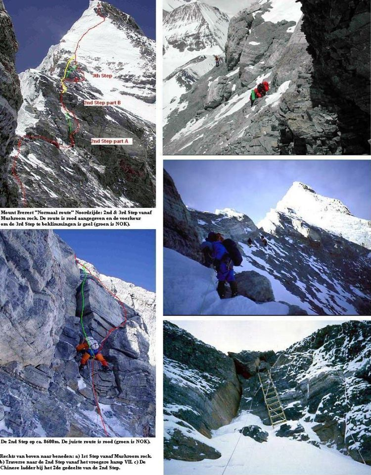 Route Everest 2004
