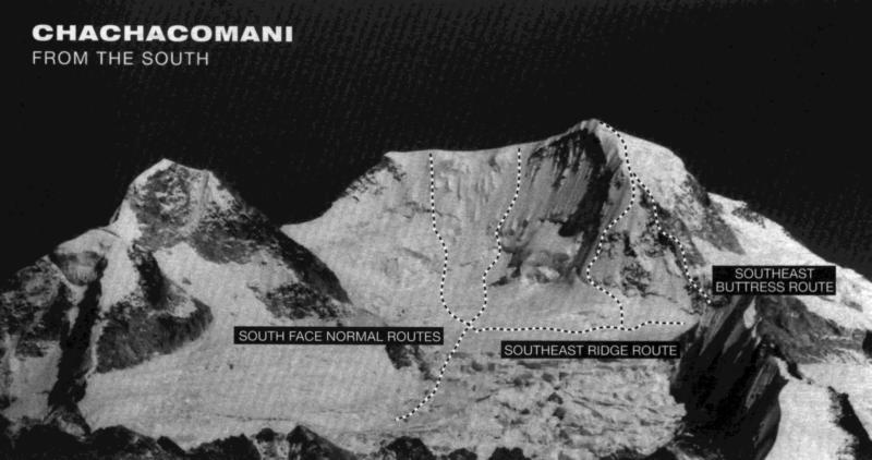 Chachacomani Zuidwand