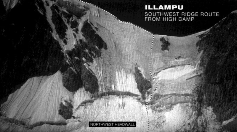 Illampu Westwand