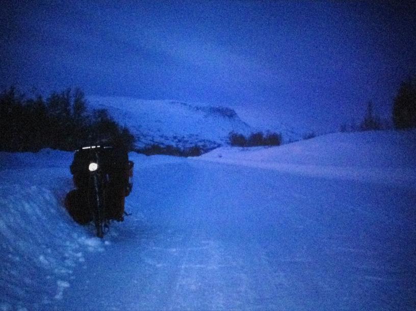 Onderweg naar de Noordkaap