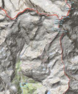 Monte Rosa map
