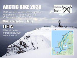Sponsorkaart van Arctic Bike 2020