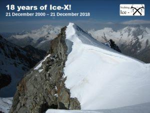 Ice-X 18 years